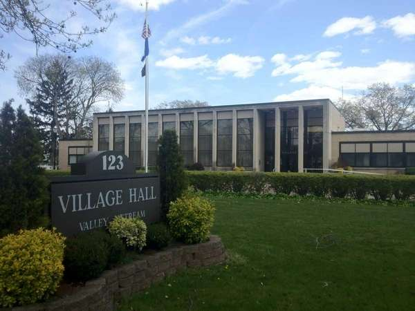 Valley Stream Village Hall is pictured on April