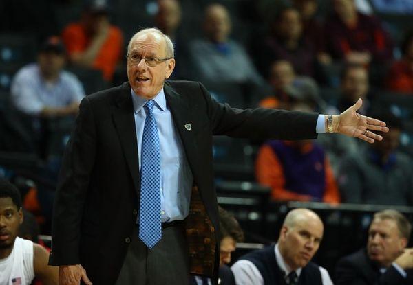 Head coach Jim Boeheim of the Syracuse Orange