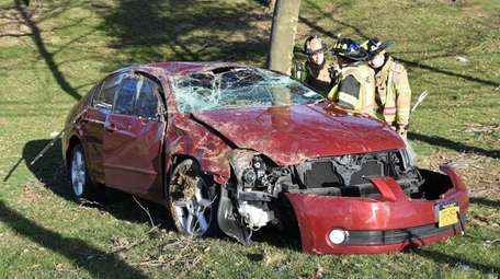 The Dix Hills Fire Department responded to an