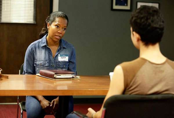 Regina King plays a social worker in season