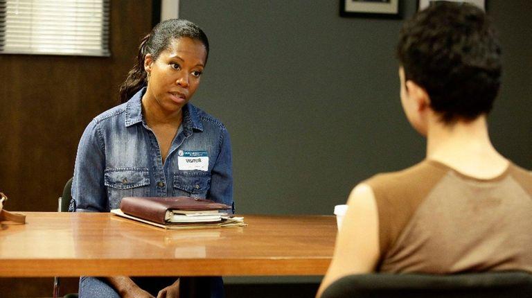 Regina King plays a social worker in season