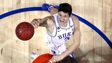Grayson Allen #3 of the Duke Blue Devils