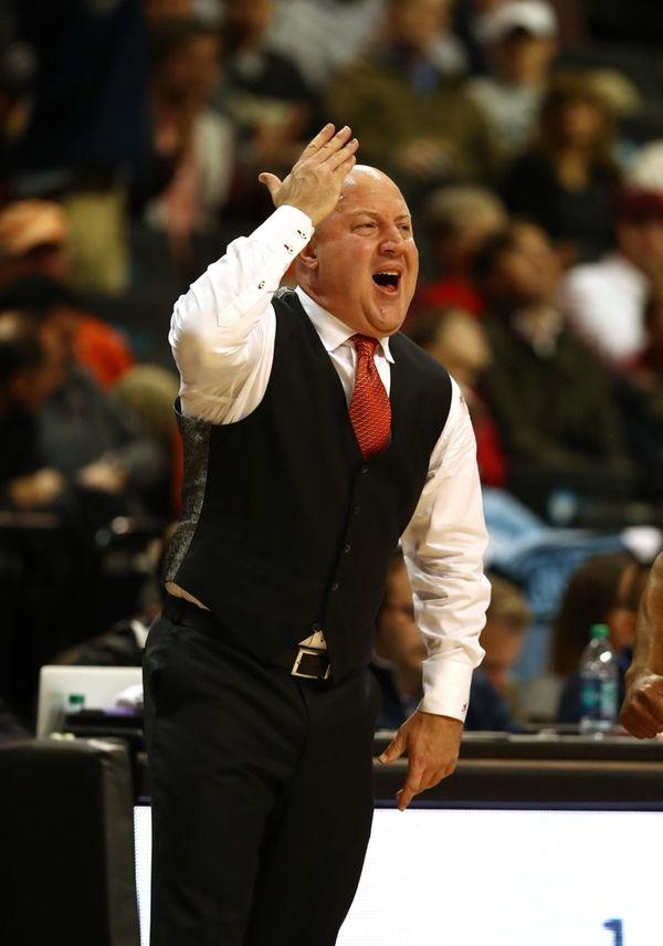 Head coach Buzz Williams of the Virginia Tech
