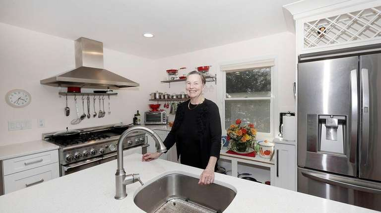 Rita Misut in the kitchen of her home