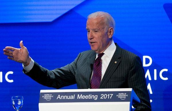 Former Vice President Joe Biden on Jan. 16,