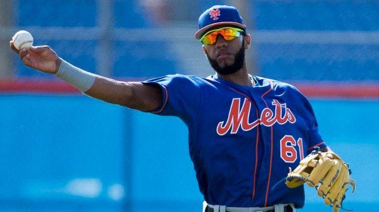 Mets shortstop prospect Amed Rosario on Feb. 20,