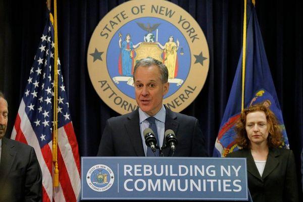 New York Attorney General Eric T. Schneiderman said