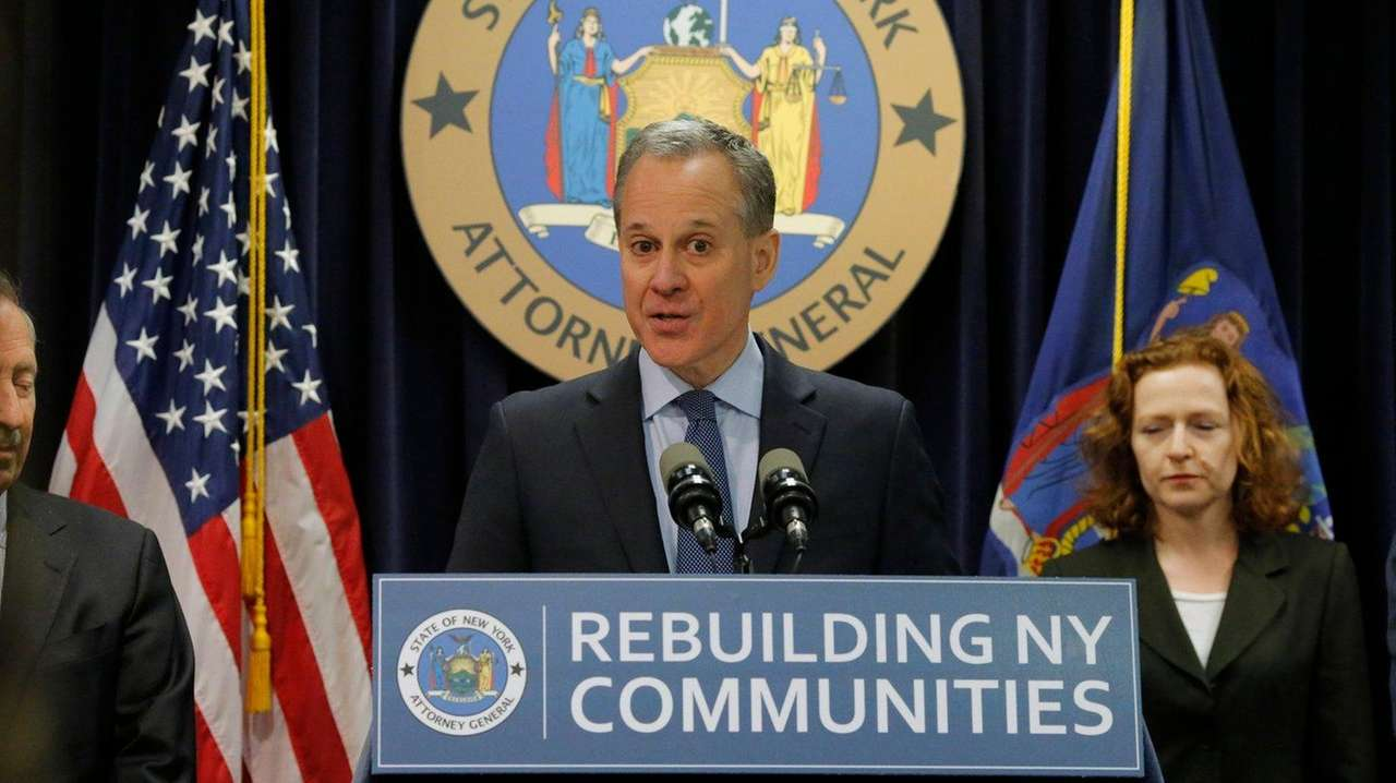 New York Attorney General Eric T. Schneiderman said