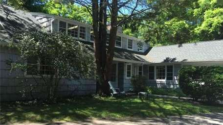 Portions of this Wading River home date back