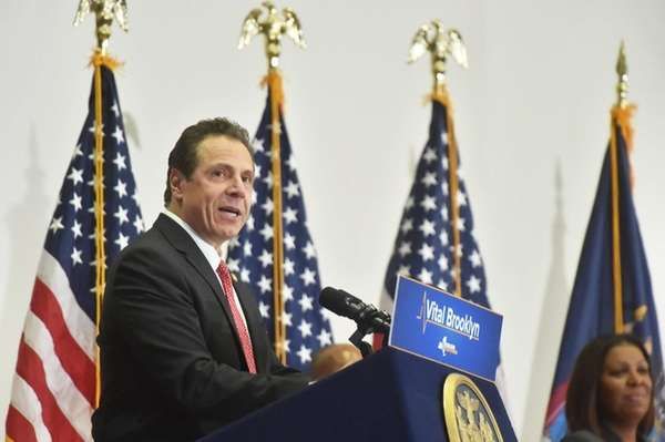 March 9, 2017--Brooklyn--Gov. Andrew M.Cuomo, joined by his Chef