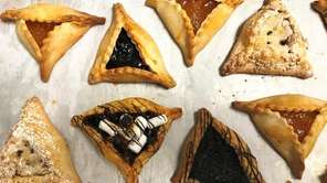 At Sweet Karma Desserts in Plainview, Purim hamantaschen