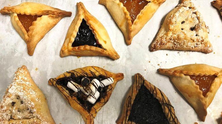 At Sweet Karma Desserts in Plainview, Purim hamantaschen