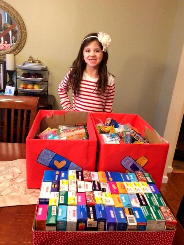 Kayla Harte's projects brighten the lives of hospitalized