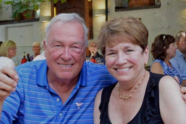 Steve and Lucy Seitz of Huntington celebrated their