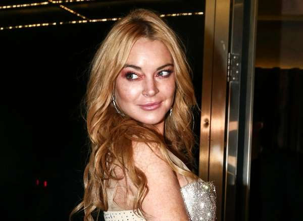 Lindsay Lohan posted an Instagram photo on Friday