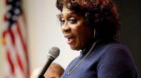 Earlene Hooper, Deputy Speaker NYS Assembly, speaks during