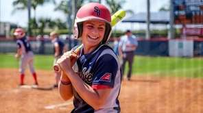 Danni Kemp, who played softball at Stony Brook