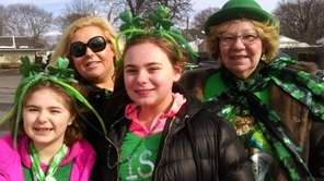 Angelina Dambra, 8, left, Kathleen Dambra, 34, Cecelia