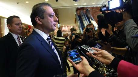 U.S. Attorney Preet Bharara in Trump Tower on