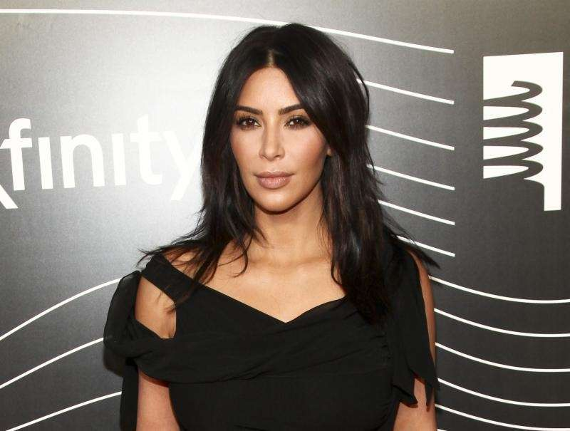 Kim Kardashian attends the 20th Annual Webby Awards