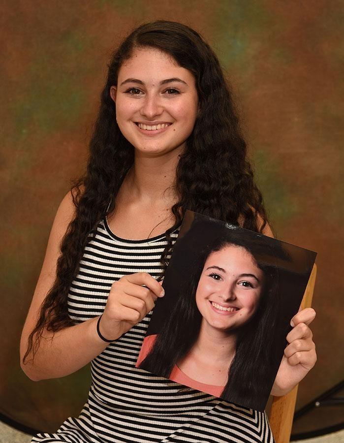 Commack High School's Morgan Zweibel is active both