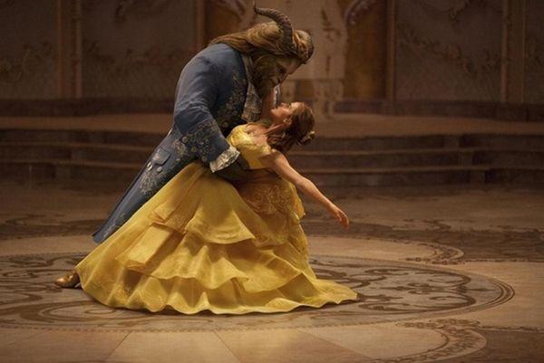 Emma Watson and Dan Stevens have a ball
