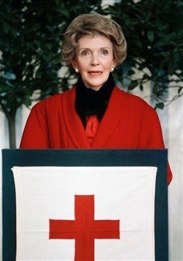 Former first lady Nancy Reagan was born to