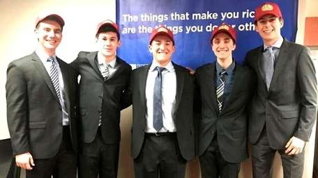 The Flip Chip team from Syosset High School