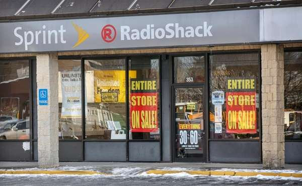 The RadioShack store at 353 William Floyd Pkwy.