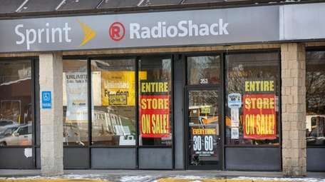 The RadioShack store at 353 William Floyd Pkwy.