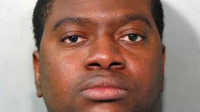 Levar O. Burton, 24, of Amityville, was arrested