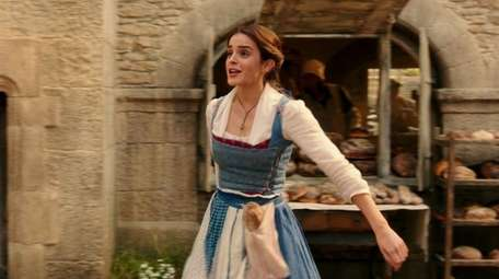 Emma Watson stars as Belle in the live-action