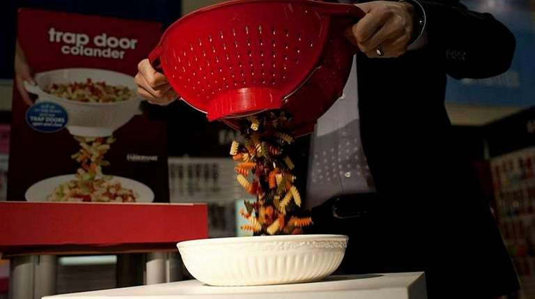 The Trap Door Colander is one of the