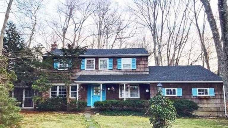 This four bedroom Colonial, on the market for