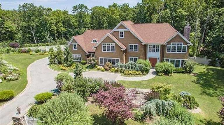 This five-bedroom Colonial, listed for $2,888,888 in March