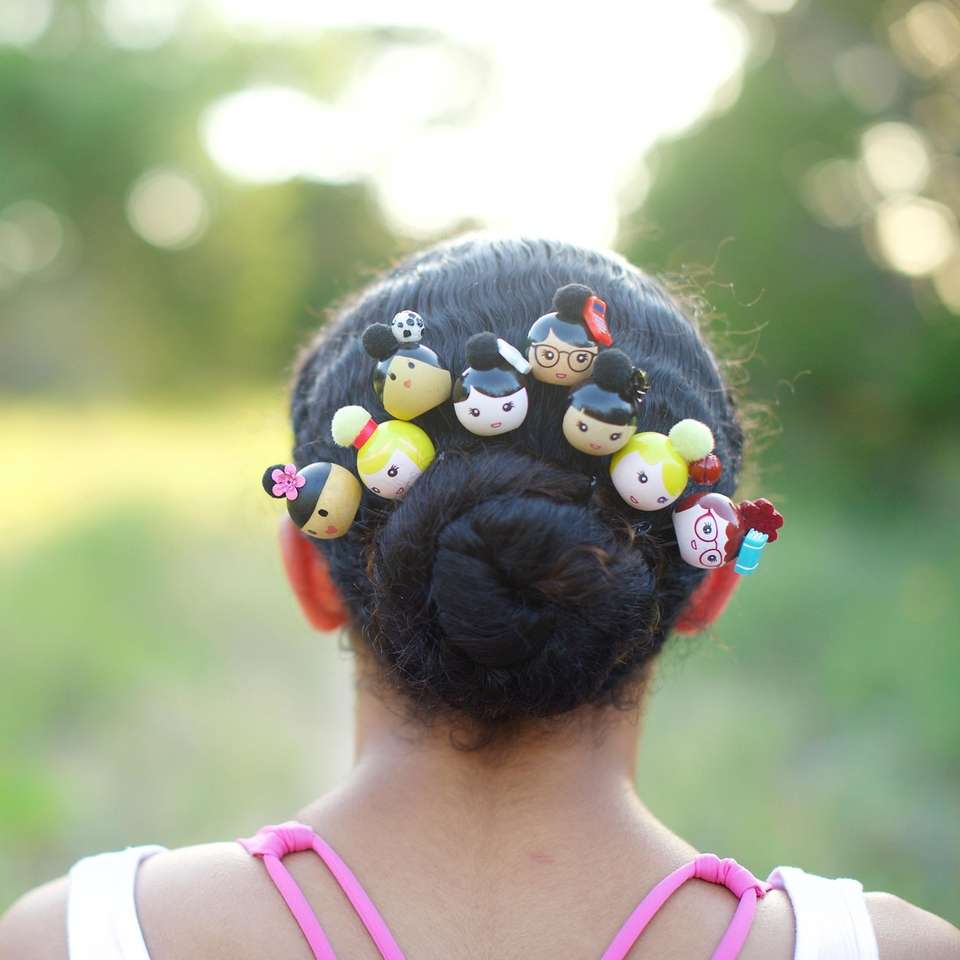 Add the collectible line of hair pin accessories