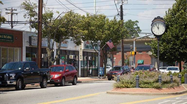 South Wellwood Avenue in downtown Lindenhurst on July