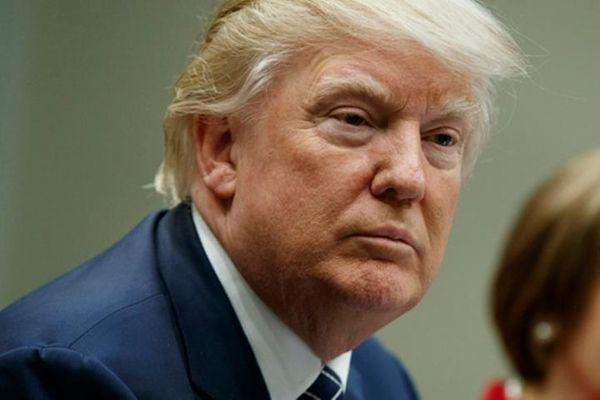 President Donald Trump sent a budget blueprint to
