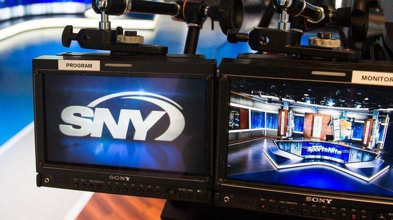View of Studio 31 at SNY's new studios,