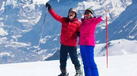 There are more seniors on the slopes than