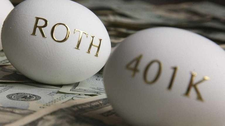 Roth contributions don't reduce your current tax bill,