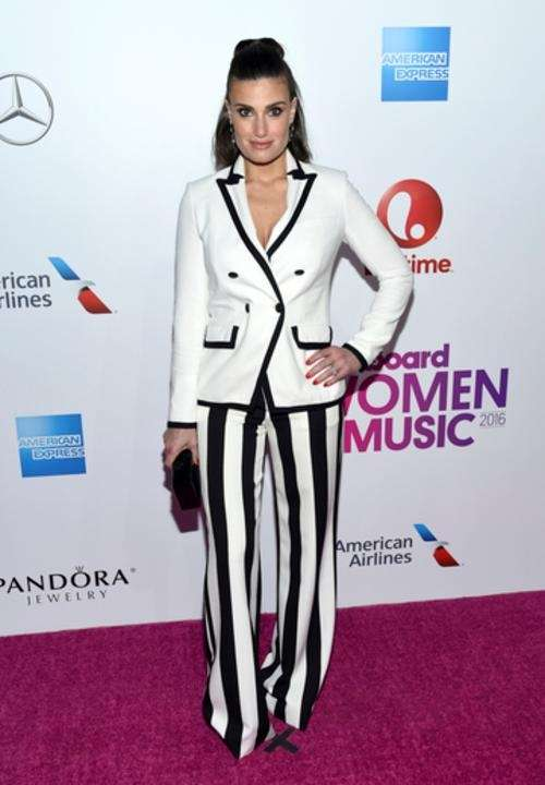 Idina Menzel was born in Syosset and has