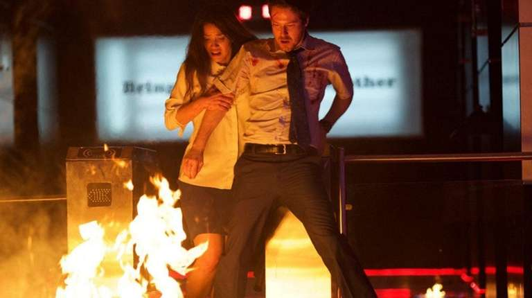 John Gallagher Jr. and Adria Arjona try to