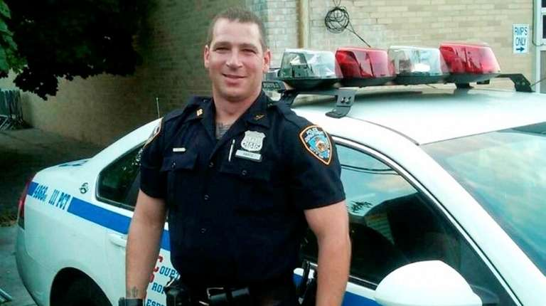 New York Police Officer Michael Hance, of Bethpage,