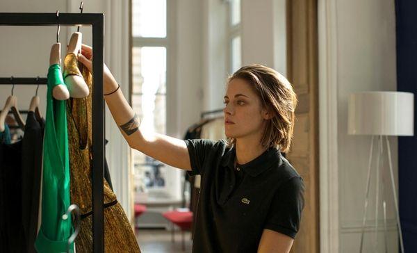 Kristen Stewart picks out something for her boss