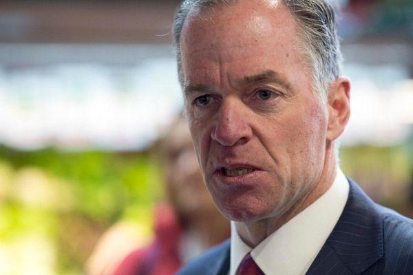 Republican challenger Paul Massey raised double the haul