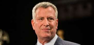 Mayor Bill de Blasio will not be charged