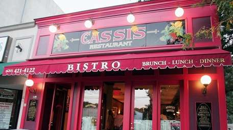 Bistro Cassis in Huntington.