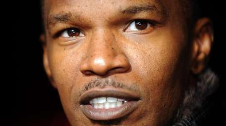 Actor Jamie Foxx arrives at the premiere of