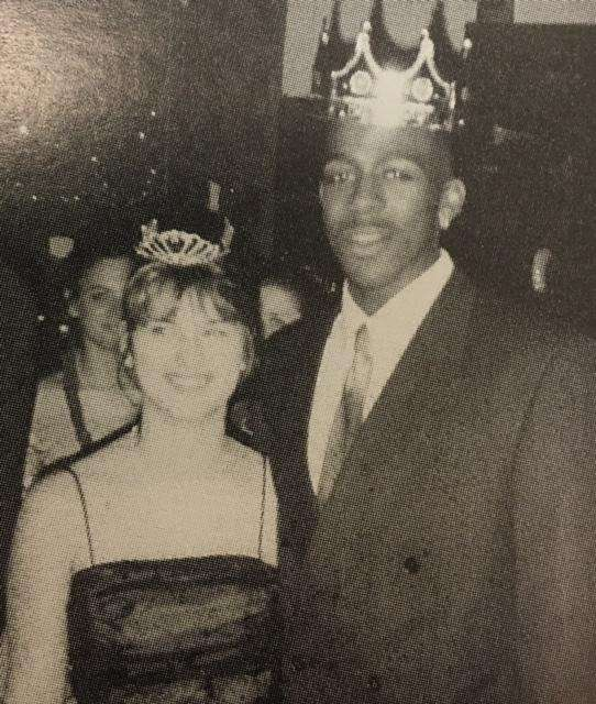 The prom king and queen of Babylon High